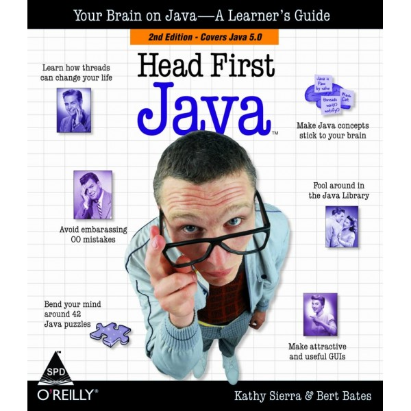 Head First Java by Kathy Sierra,Head First Java