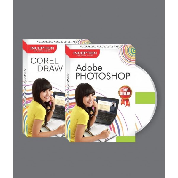 Learn Adobe Photoshop + Corel Draw (Inception Success Series - CD)