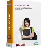 CBSE-UGC NET Self faced learning (Computer Science & Application)