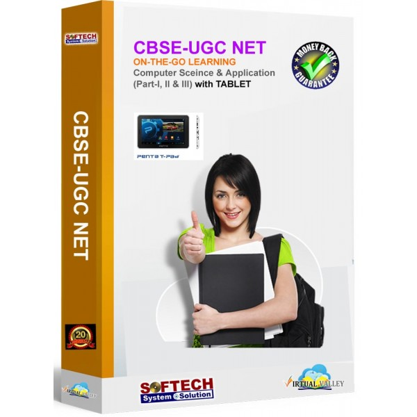 CBSE UGC NET Computer Science & Application - Online Training with Tablet