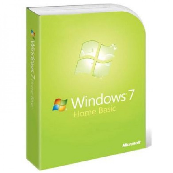 Windows 7 Home Basic OEM Single User 32-Bit
