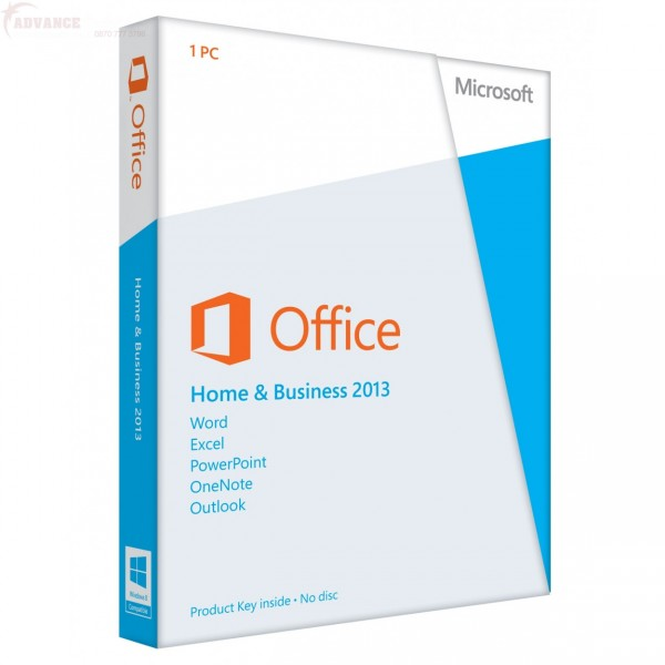 Microsoft Office Home and Business 2013 1 User Pack