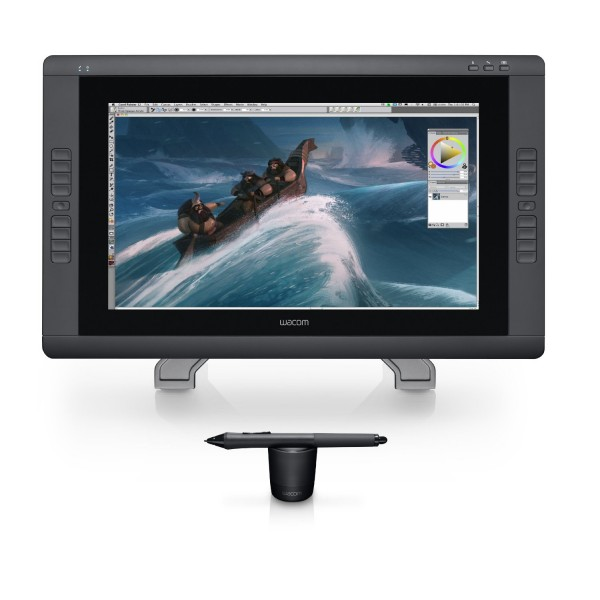 Wacom CINTIQ 22HD Pen Display - Graphics Monitor with Digital Pen - Black