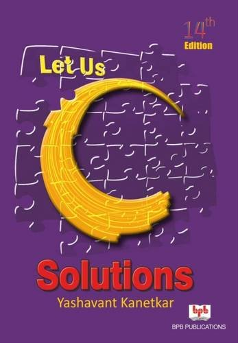 Let Us C Yashwant Kanetkar Pdf 13th Edition